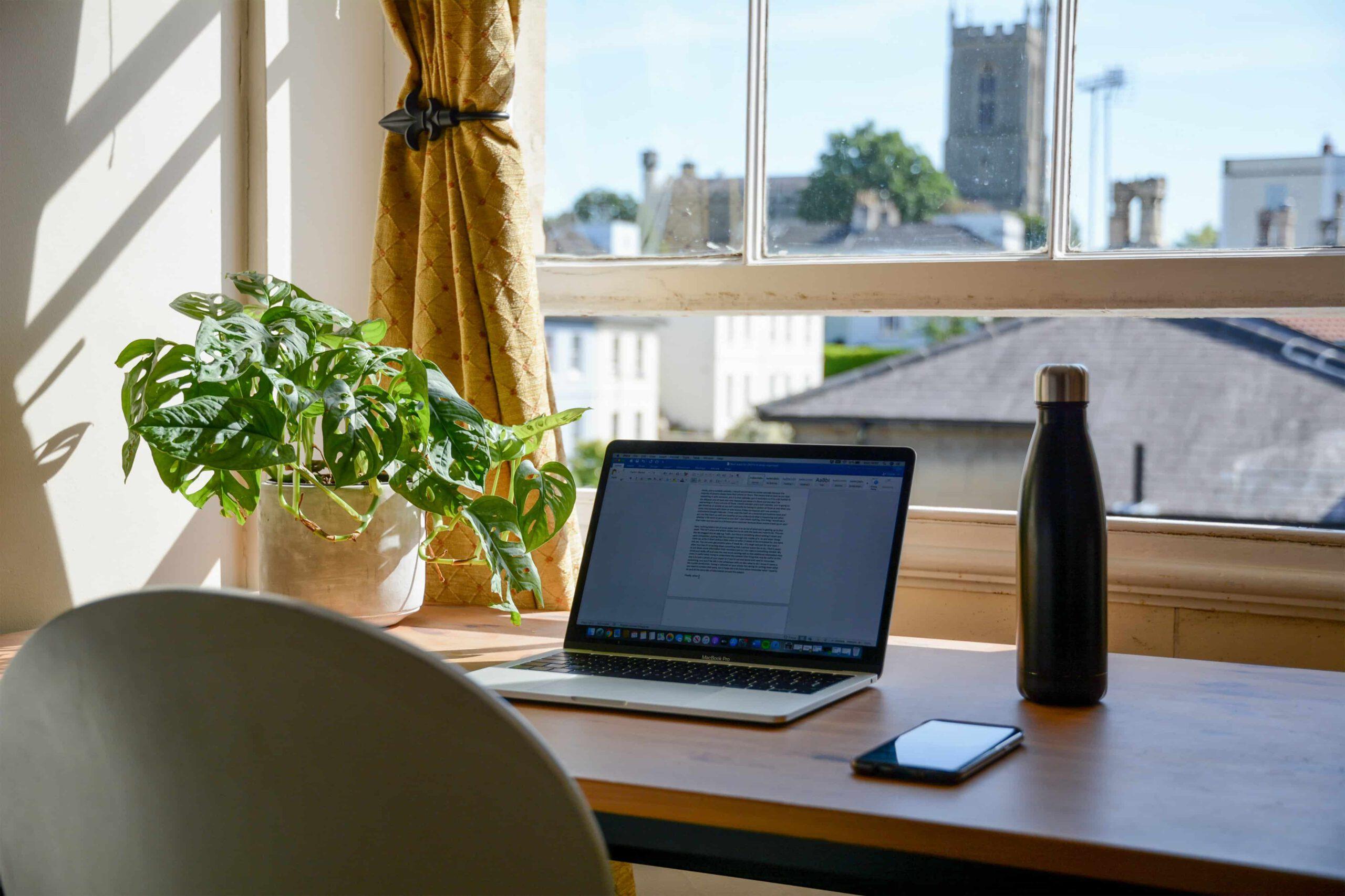 Thuiswerken? Zorg voor een optimale werkplek