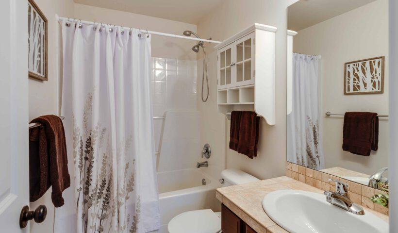Een kleine badkamer? Geen probleem!